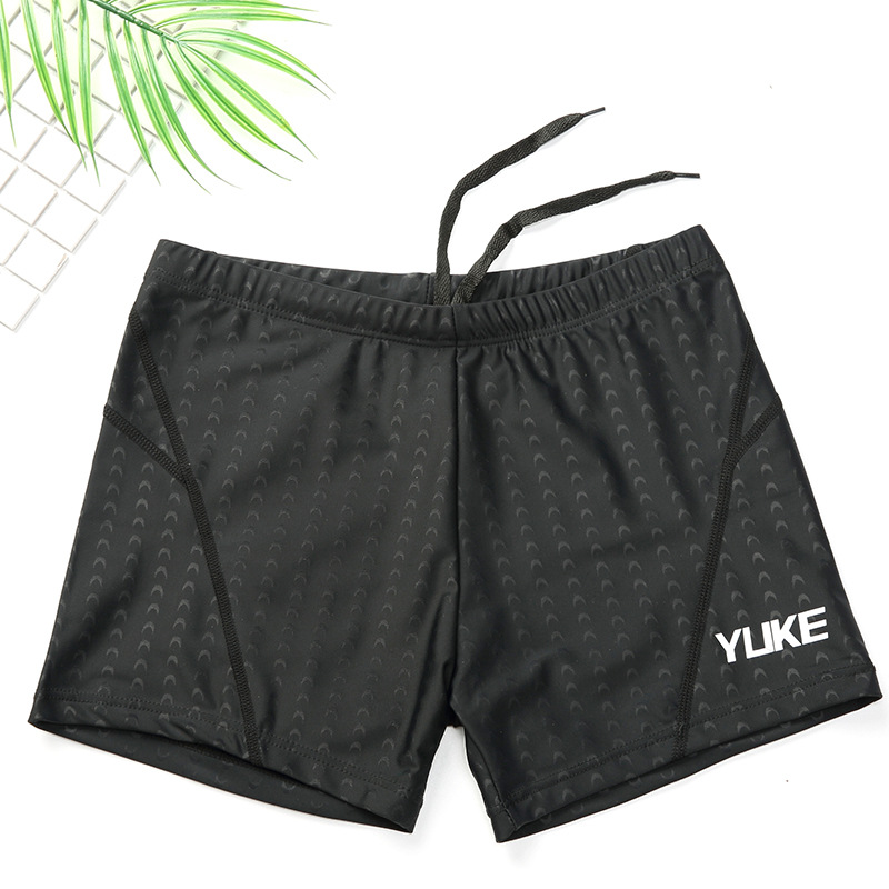 Yuke Swimming Trunks Men's New Style Boxer Large Size MEN'S Swimming Trunks Hot Springs Bathing Suit Men's Adult Swimming Equipm