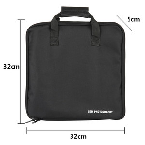 "Image 2 - 13inch Carry Bag LED Photography Bag Kits Outdoor Camera Stand Carry Bag for 8""10""Selfie Ring Light & Tripod Stand Storage Bag"