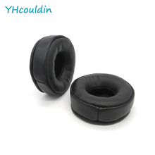 YHcouldin Ear Pads For Hifiman HE6 Headset Leather Ear Cushions Replacement Earpads hifiman he500 he300 he6 headphone upgrade cable