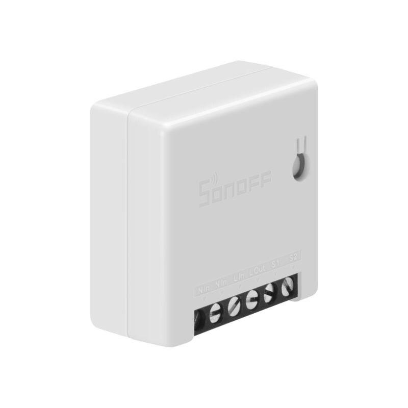 para Sonoff Mini Wi-fi para Alexa Sistema de Alarme Faça Você Mesmo Interruptor Inteligente Pequeno Google Casa Controle Remoto