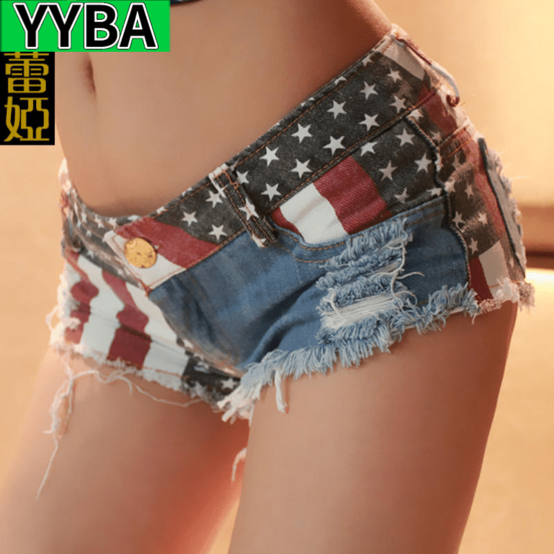 YYBA Shorts Summer Women Fashion National Sexy Hipster Polyester Cotton Comfortable Special Offer All-match Leisure Ultrashort