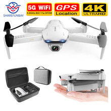Sharefunbay S162 Drone GPS 4K HD 1080 P 5G Wifi FPV Quadcopter Penerbangan 20 Menit RC, 500 M Drone Smart Kembali Drone Pro(China)