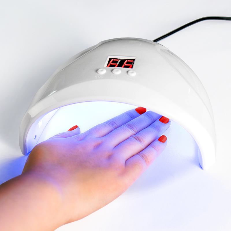 UV Lamp For Manicure LED Nail Dryer Lamp <font><b>Sun</b></font> Light Curing All Gel Polish Drying UV Gel USB Smart Timing Nail Art Tools image