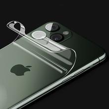 1 3 шт 20D задняя защитная пленка для iPhone 11 Pro X XR XS Max Hydrogel TPU для Apple 6S 7 8 Plus 6P 7P 8 P задняя пленка из фольги
