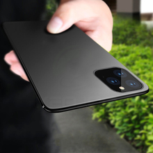 Keajor case for iPhone 11 Max Pro Case Ultra Thin Soft Matte Silicon TPU Bumper Cover For phone fundas