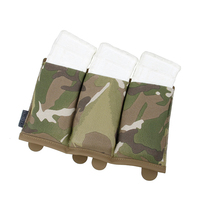 TMC Tactical TS Triple M4 Magazine Pouch Molle Tactical Airsoft Gear Army Military Camo Mag Pouches Airsoft Wargame Gear 2961