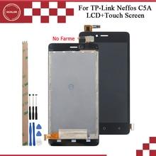 Ocolor para tp link neffos c5a tp703a display lcd e montagem da tela de toque 5.0 for para tp link neffos c7a tela + ferramentas