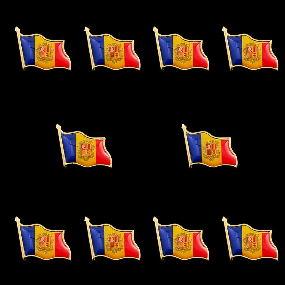Pin Bandera Bélgica con bolsa de organza libre de corbata