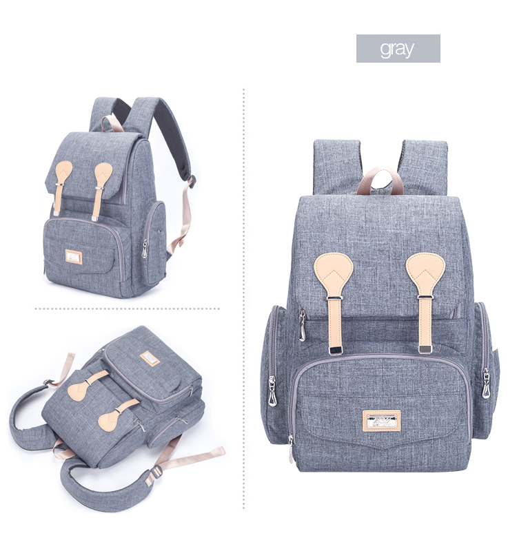 He8aefe3c86db42d784b2c9b2a6cdec70G Baby Diaper Bag Backpack Large Capacity Nappy Waterproof Maternity Baby Bag For Mum Mummy Maternity Nappy Backpack For Stroller