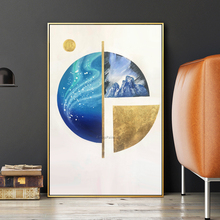 Hand painted geometric modern art painting abstract canvas oil painting wall picture for living room bedroom home wall art decor european style hand painted beauty figure art oil painting wall painting living room bedroom door sticker wall mural wallpaper