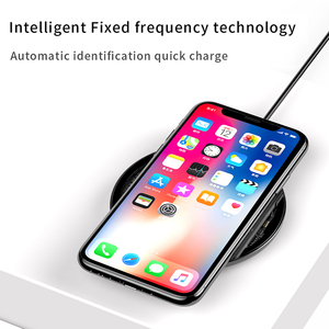Image 2 - Baseus 15W Qi Wireless Charger for iPhone X/XS Max XR 8 Plus Visible Element Wireless Charging pad for Samsung S9 S10+ Note 9 10