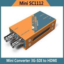 Avmatrix Heißer Verkauf Mini SC1112 Lilliput 3G 1080 P HD SDI Naar Mini Converter Avmatrix 1080i Broadcast Konverter
