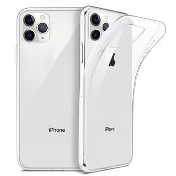Ultra cienki przezroczysty futerał na iphone 11 Pro Max etui na iphone 7 8 6 6S Plus X XR XS Max miękki TPU silikonowy przezroczysty tył okładka tanie i dobre opinie PINDOY Odporna na brud Anti-knock Aneks Skrzynki Ultra Thin Clear Case Apple iphone ów Iphone 6 Iphone 6 plus IPHONE 6S