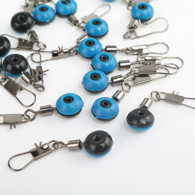 20Pcs Fishing Float Rolling Swivel Supplies With Tackle Tool Fishing Line To Hook Ring Ocean Rock Fshing Accessories 4