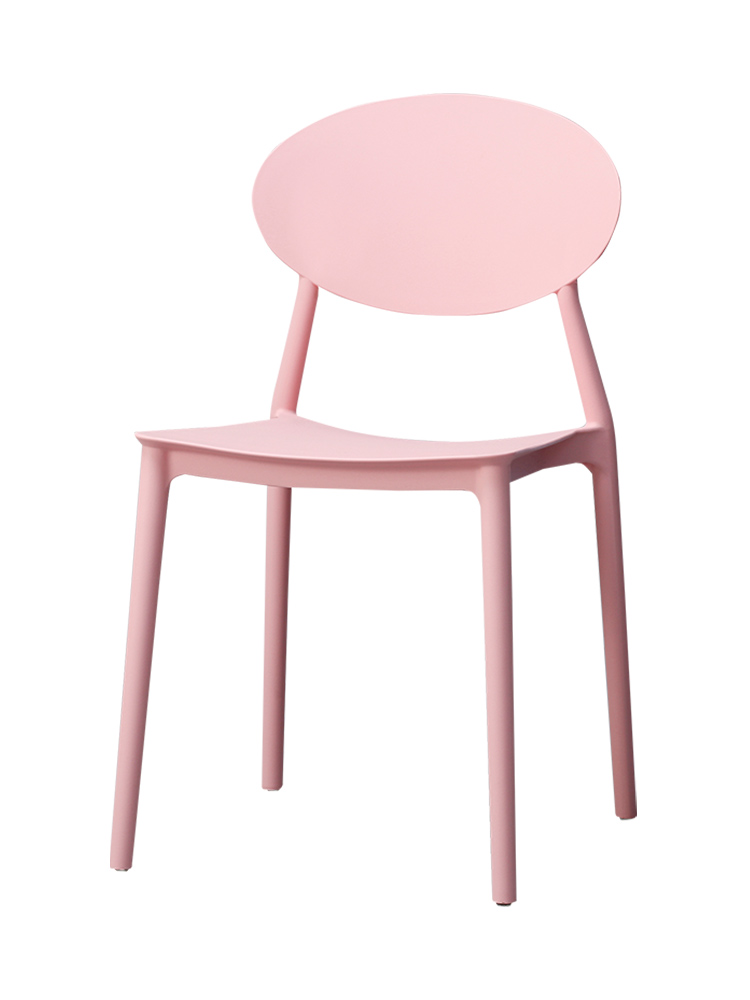 Chair Home Modern Minimalist Lazy Plastic Stool Chair Nordic Leisure Chair Ins Ins Negotiation Chair Original Design