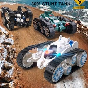 2.4ghz Stunt RC Tanks 360° Ro