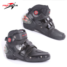 Motorcycle-Boots Motorbike A09003 Ankle-Moto-Shoes Biker-Protect Waterproof Professional