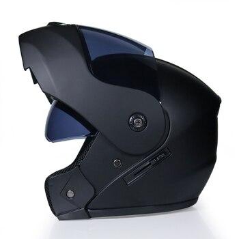Motorcycle Helmets Half Helmet Scooter Helmet Motor Crash Helmet Motor Bye Helmets for Moto Bike Sun Protection Double Glasses