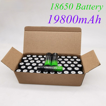 2021 neue 18650 batterie 3,7V 19800 mAh batera recargable de Li-Ion para linterna LED Caliente Nueva de Alta Calidad
