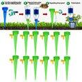 12 шт завод Воронка цветок капельного автоматического полива инструмент воды ногтей ирригационная система DTT88