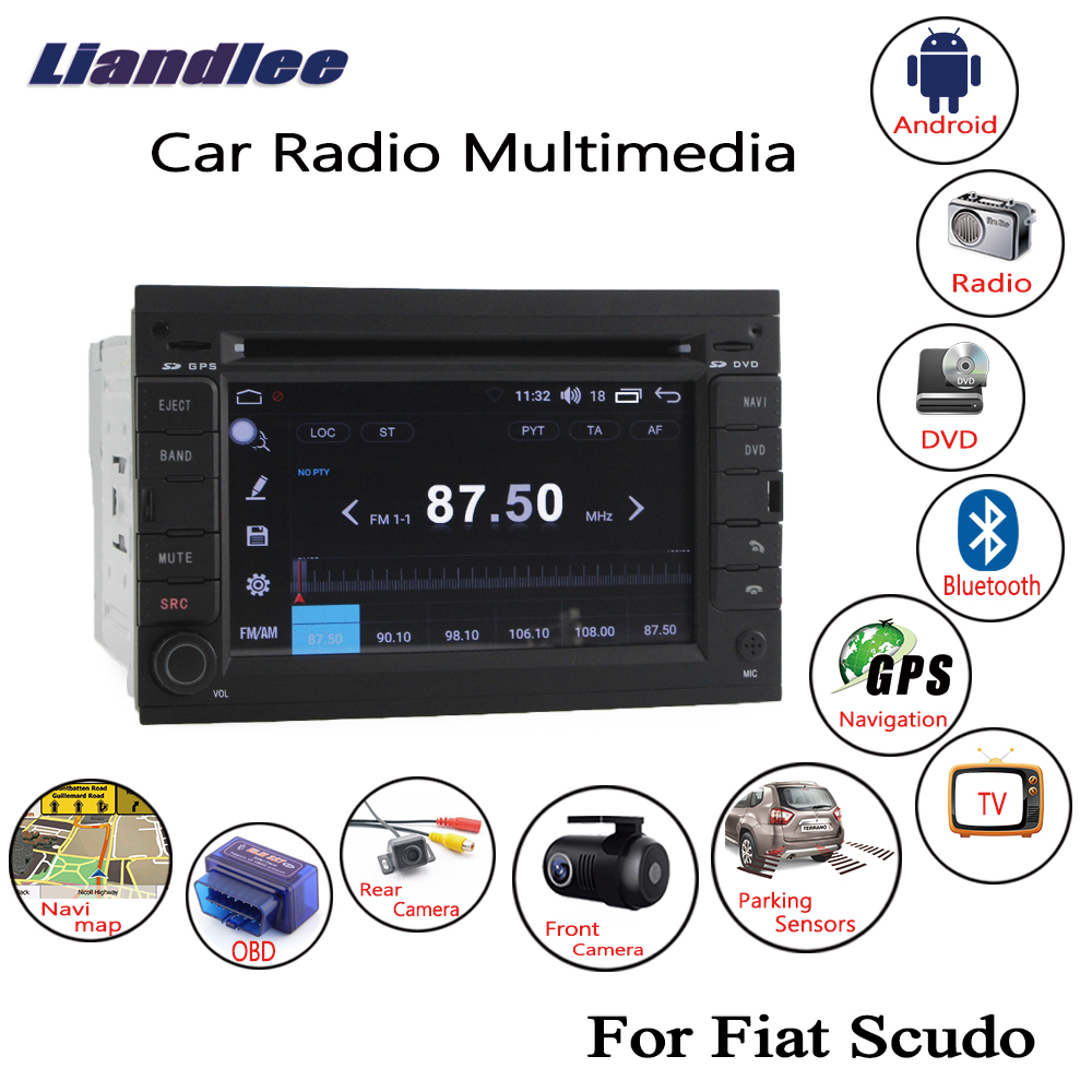Cheap For Fiat Scudo 2007~2013 2014 2015 Android Car Radio