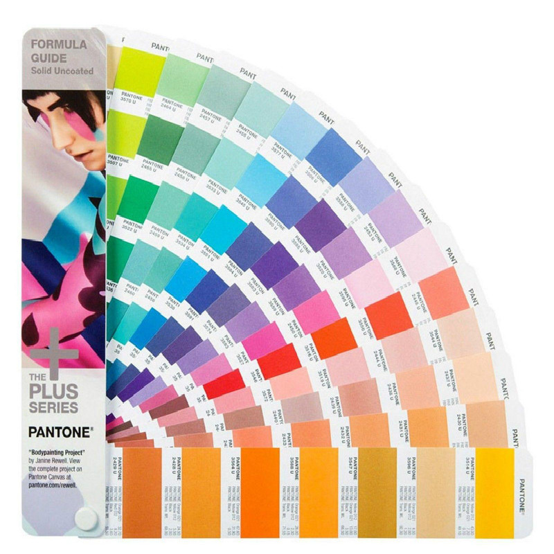 Pantone Plus Series Formula Guide Solid Uncoated Only GP1601N  112 Color
