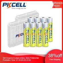 8 шт pkcell аккумулятор aaa 12 в ni mh аккумуляторная батарея
