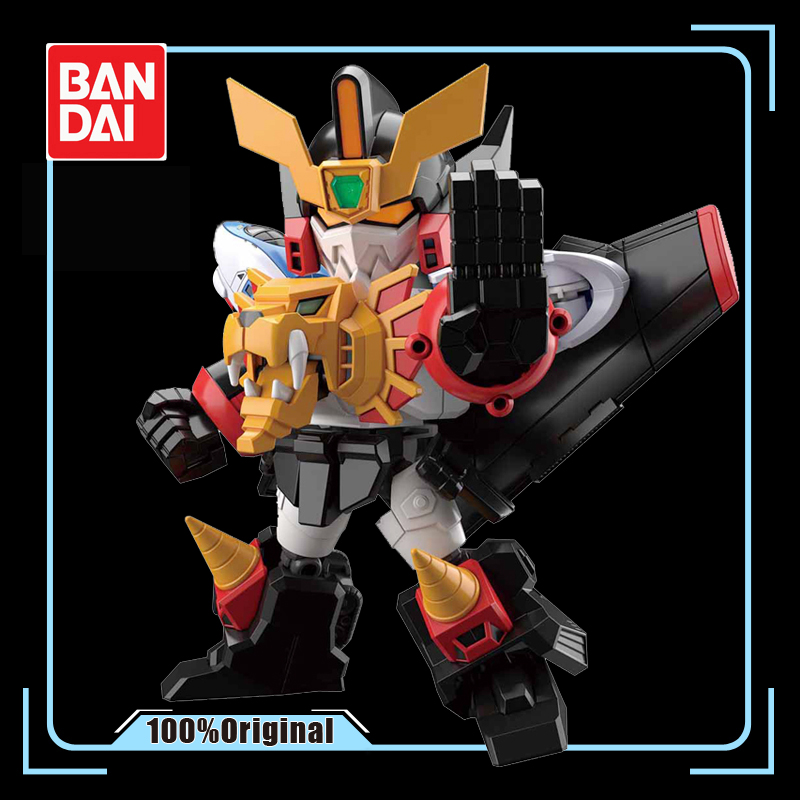 BANDAI SDCS SD <font><b>BB</b></font> Assembly Model <font><b>GUNDAM</b></font> The King of Braves GaoGaiGar Action Toy Figures Gifts for Children image