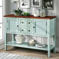 Household Sideboard Console Table Sideboard Console Table With Bottom Shelf Kitchen Cabinet Container Kitchen Furniture