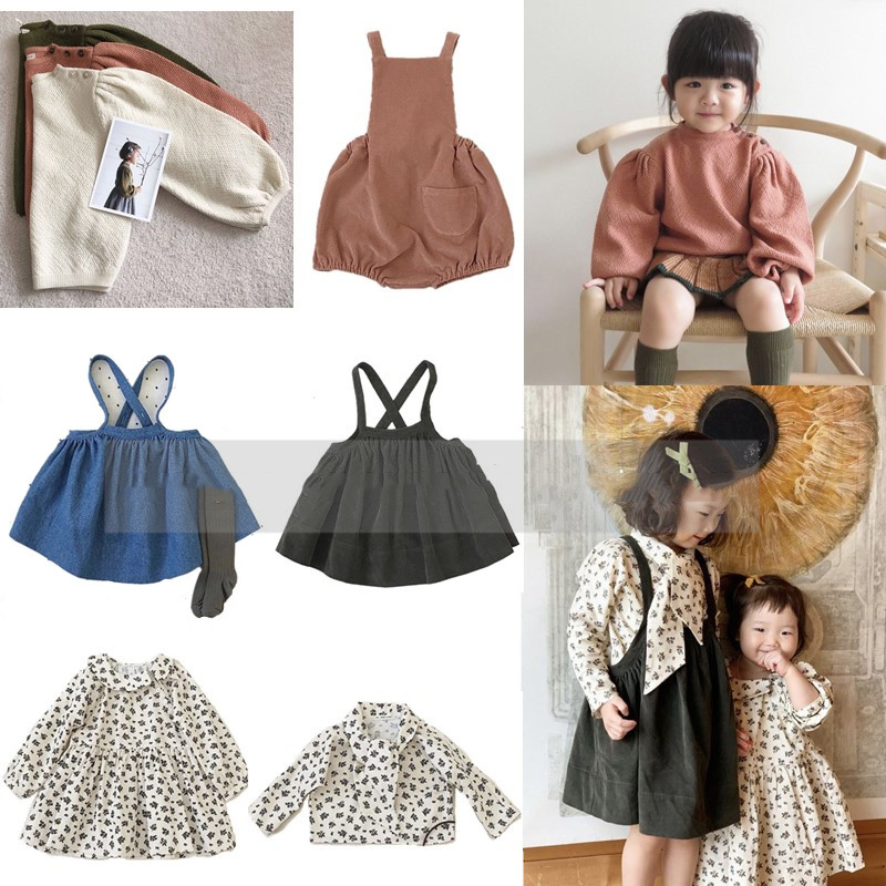 2021 Kids Clothes Toddler Girls Knitted Sweater Winter Dress Boys Leggings Winter Fashion Brand Tops Children Crochet Pullover 1