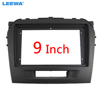 LEEWA Car Radio Audio 9 Big Screen 2DIN Fascia Frame Adapter For Suzuki Vitara DVD Player Dash Fitting Panel Frame Kit #CA3154 image