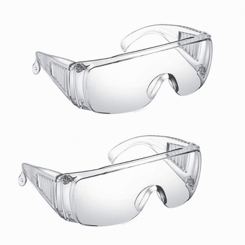 Safety Goggles Glasses Transparent Dust-Proof Workplace Lab Dental Eyewear Splash Eye Protection Anti-wind - discount item  50% OFF Workplace Safety Supplies