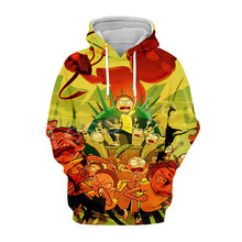 Tessffel Rick and Morty New Fashion Harajuku casual Tracksuit 3D Print Hoodie/Sweatshirt/Jacket/shirts Mens Womens funny style-2