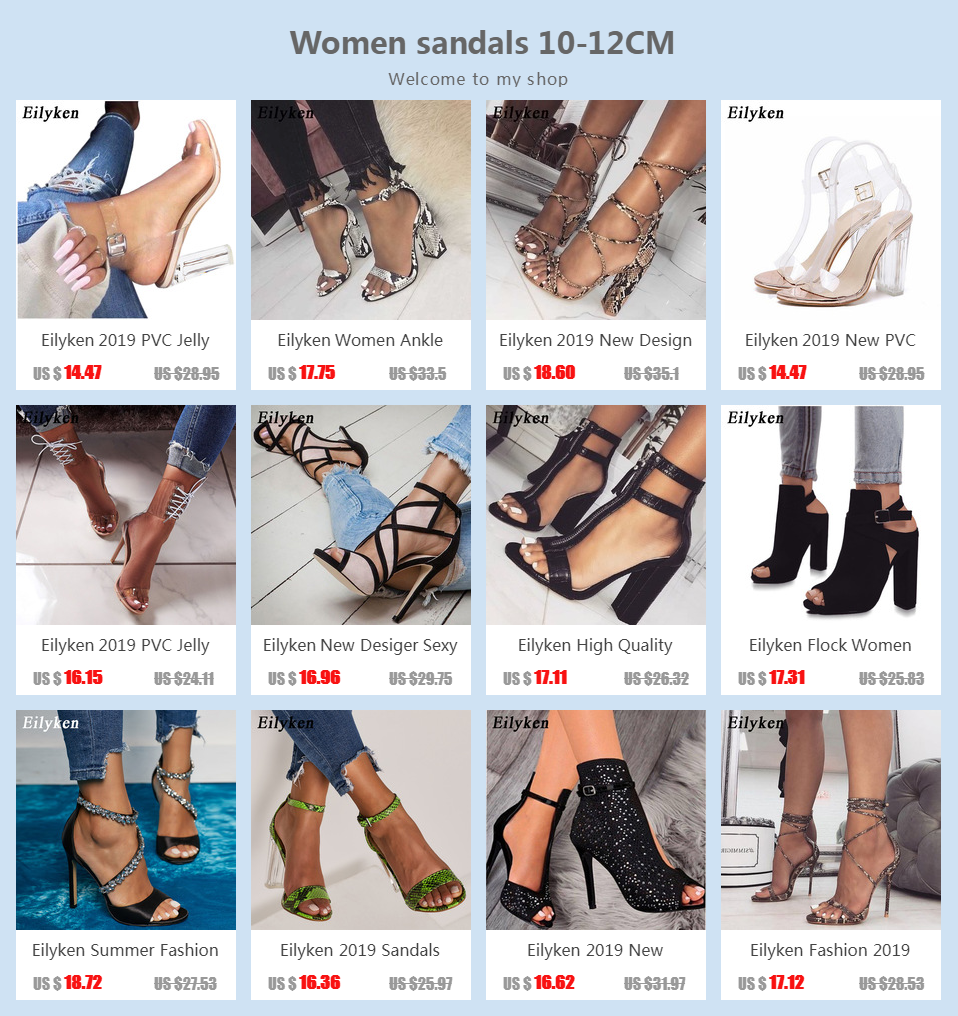 He8b19cc37c0a46e78c911d331e90124aJ Eilyken Women Ankle Strap Sandals Snake Print Square heel Fashion Pointed toe Ladies Fashion shoes 2019 New Women Sandals