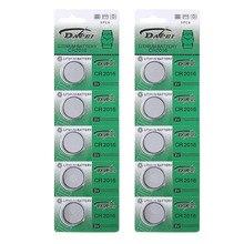10 pces cr2016 botão pilha bateria 3 v lítio moeda relógios baterias cr2016 substituir baterias para relógio eletrônico brinquedo remoto