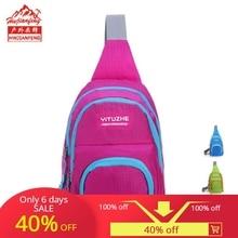 Unisex outdoor chest bag sports slung shoulder ultra light waterproof travel nylon bags