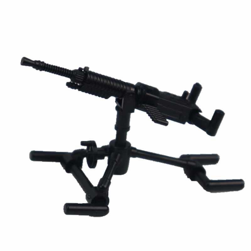 الأسلحة العسكرية Legoing WW2 البنادق الرشاشة الثقيلة Moc كتل لعب للأطفال SWAT الفائز في الجيش سلاح Legoing العسكرية بلوك