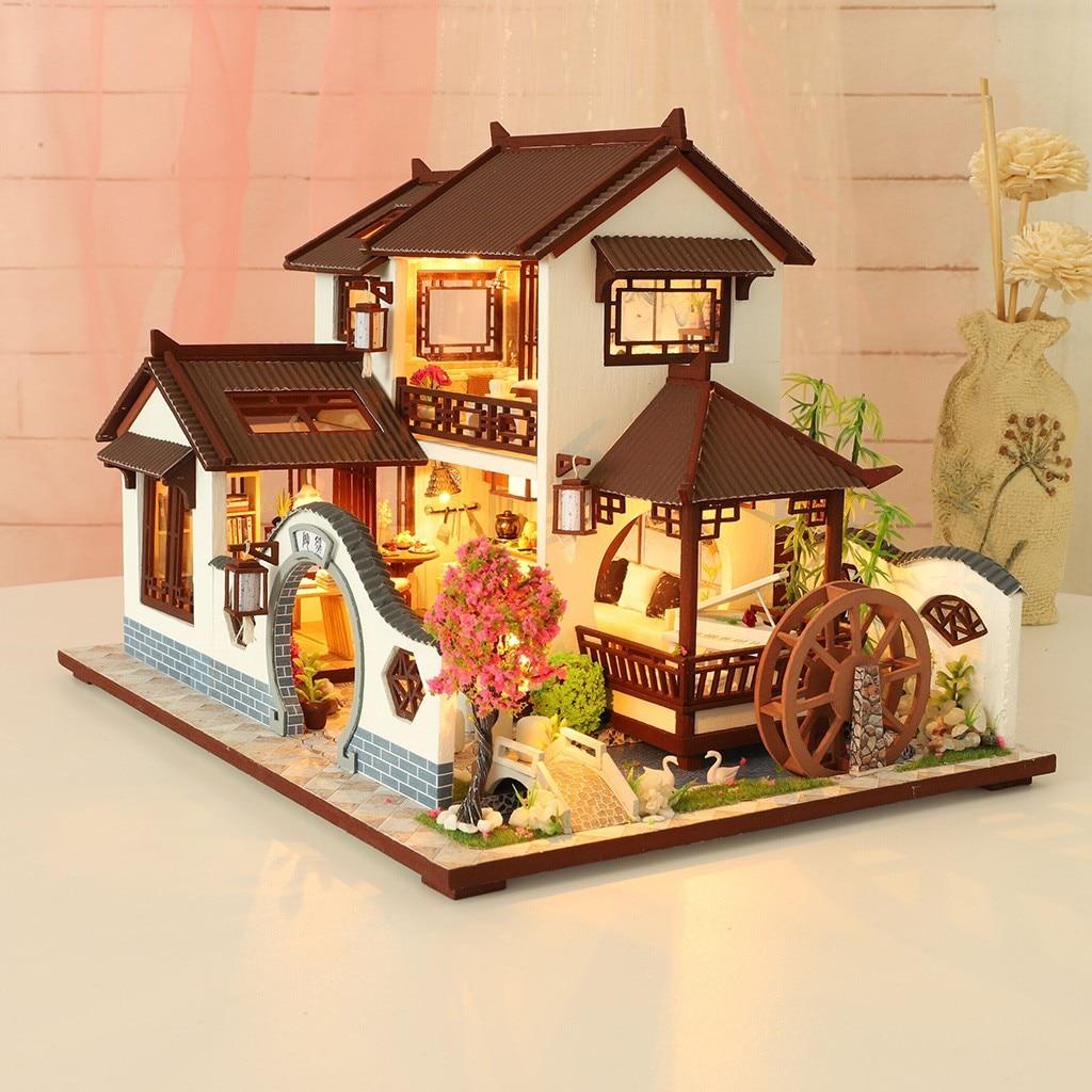 He8b26c2080fa4d51a87eb1e2fdf2e944W - Robotime - DIY Models, DIY Miniature Houses, 3d Wooden Puzzle