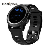 Battiphee Microwear Smartwatch H1 Android 4.4 Waterproof 3G Watchphone Wifi GPS SIM For iOS Android Professional Wearable Device