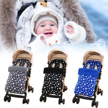 Gruby ciepły wózek dziecięcy śpiwór polarowy wózek dziecięcy niemowlę owijka dla niemowląt koperty noworodki kocyk dziecięcy śpiwór tanie i dobre opinie Baby sleeping bag Unisex Polka dot Poliester