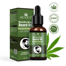 30ml Beard Growth Oil Natural Hemp Beard Essential Oil Beard Wax Balm for Men Be