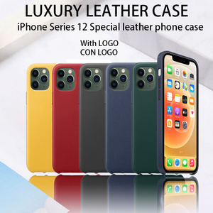 iPhone 12 Pro Max Shockproof Soft Case iPhone 12 case Phones Cover Be Used For iphone 12 pro Max of Luxury Leather Case