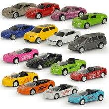 Superbe voiture jouet de sport pour enfants, 1 pièce, modèle de voiture rétractable, voiture de sport éblouissante, véhicules de Simulation en métal moulé