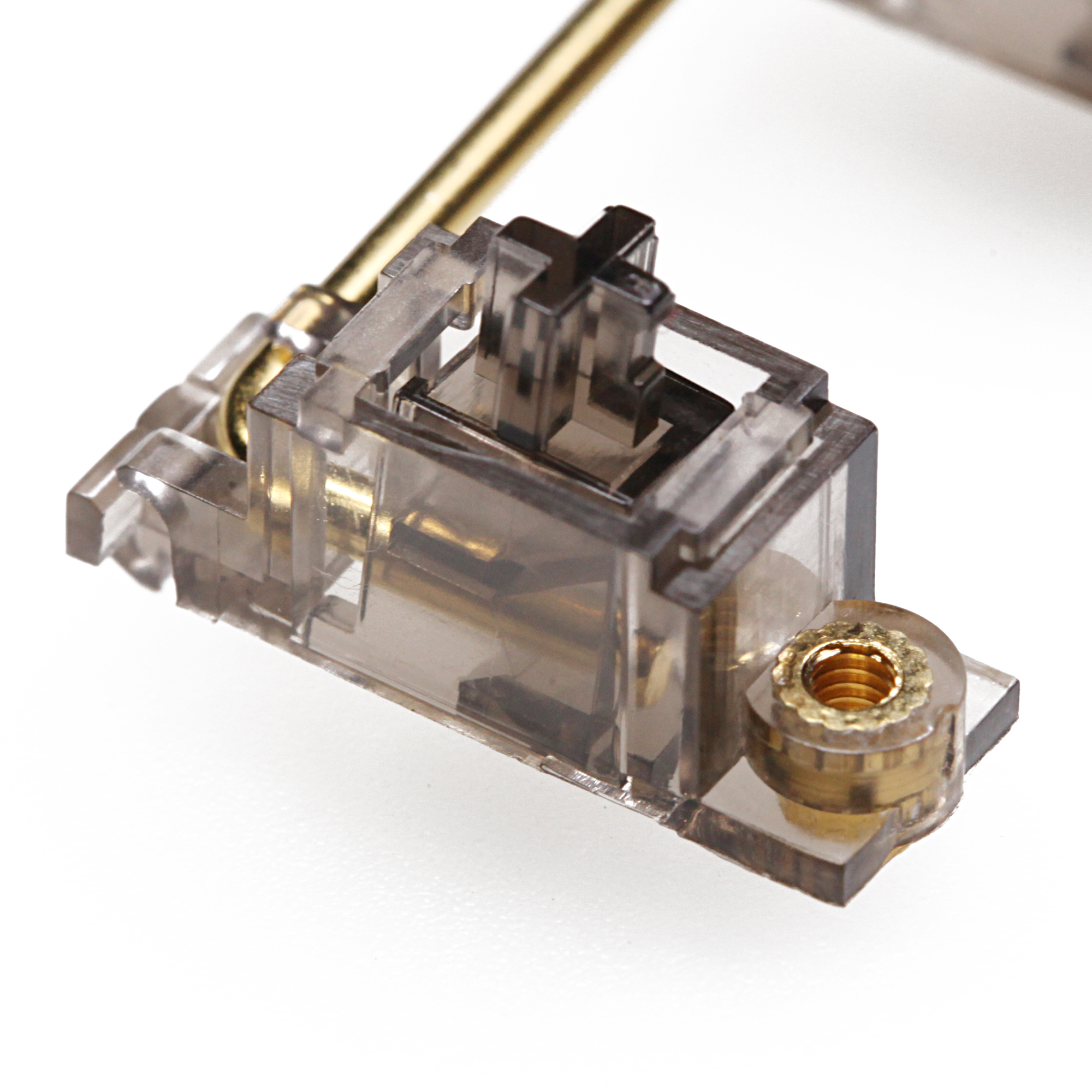 Everglide Black Transparent Gold Plated Pcb Screw In Stabilizer For Custom Mechanical Keyboard Gh60 Xd64 Xd84 6.25x 2x 7x Xd87