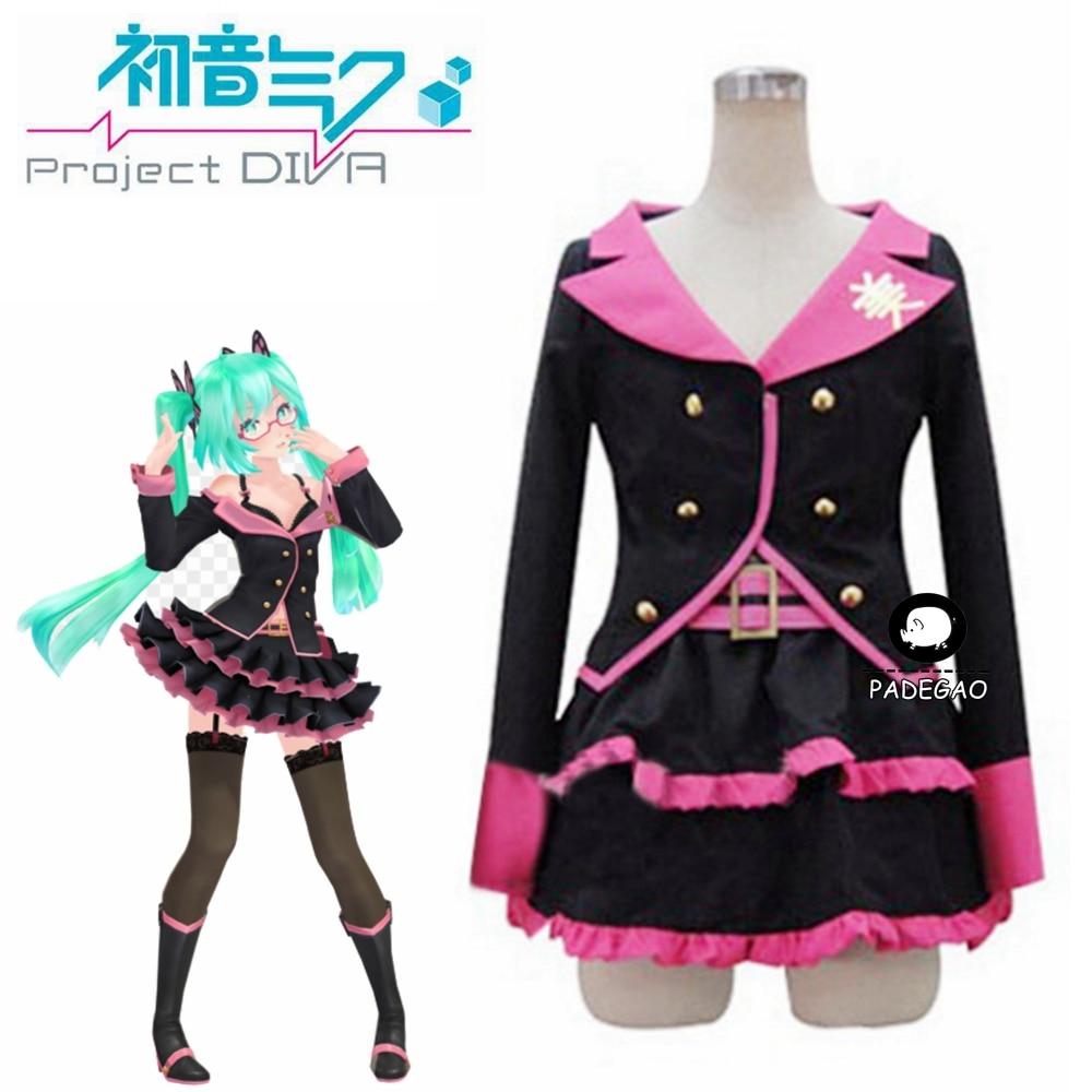 VOCALOID Hatsune Miku Cosplay Costume Custom Any Size