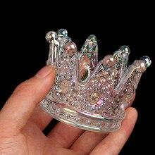 Mini bol en verre cristal, récipient pour liquide à ongles, 6Styles, 1 pièce