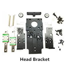 SMT DIY mountor hollow shaft stepper head Double head bracket for pick place smt machine