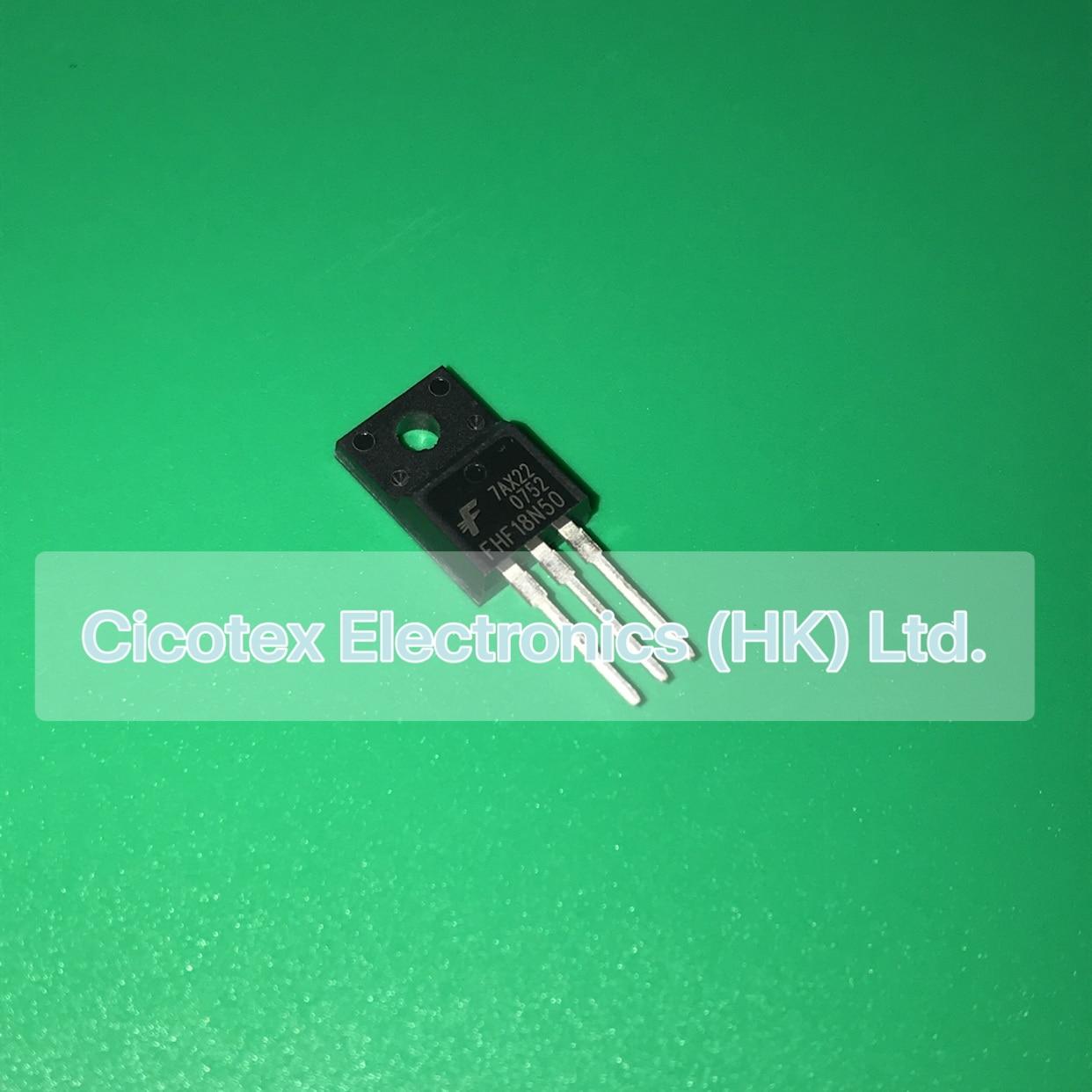 10pcs/lot FHF18N50 TO-220F FHF 18N50 18A 500V N-CHANNEL POWER MOSFET FHF-18N50
