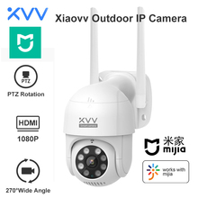 Xiaovv Outdoor IP Camera 1080P PTZ Rotate Wifi Webcam AI Humanoid Detect Waterproof Security CCTV Cameras Work For Mi Home App