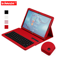 For Huawei MediaPad M5 10.8 case with bluetooth keyboard litchi grain PU leather Protective Cover for huawei M5 10.8 inch ultra thin slim stand litchi grain pu leather skin case with keyboard station cover for lenovo yoga a12 a12 12 12 0 inch tablet
